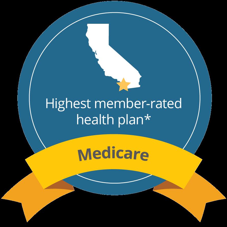 Highest member-rated health plan - Medicare