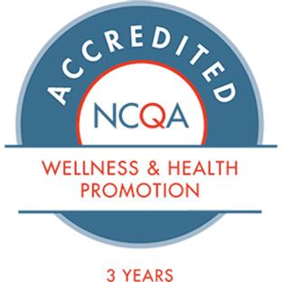 Acreditación del NCQA de 3años por la promoción de la salud y el bienestar
